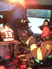 E152 Crew on Gas Explosion