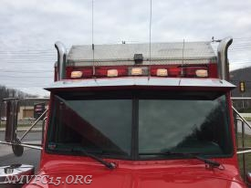 LED Marker lights installed on roof