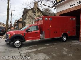 Ambulance-159 on delivery day