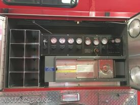 SCBA cylinder storage rack installed