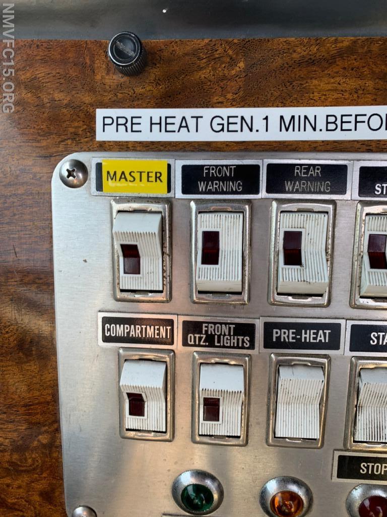 Emergency Master Switch Addition/Rewire